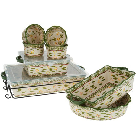 Temp-tations Old World 9-Piece Bake Set