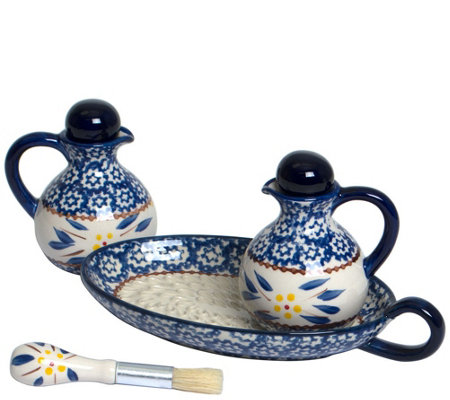 Temp-tations Old World Oil & Vinegar Set