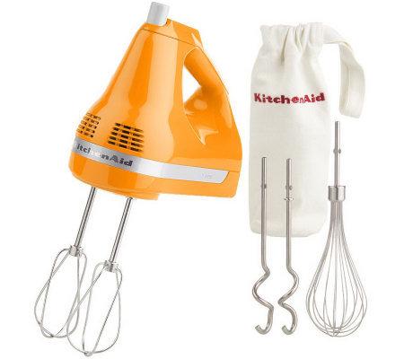 KitchenAid Artisan 7-Speed Digital Hand Mixer w/ Attachments
