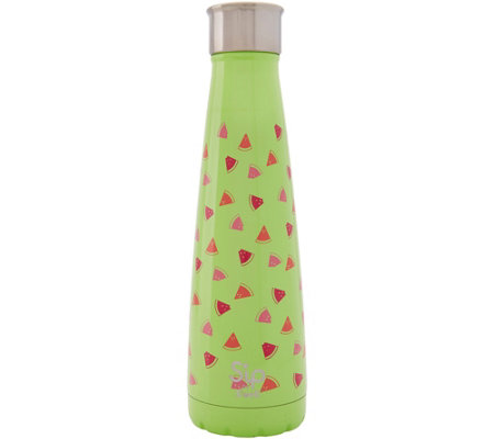 S'ip by S'well 15-oz Stainless Water Bottle- Watermelon Cooler