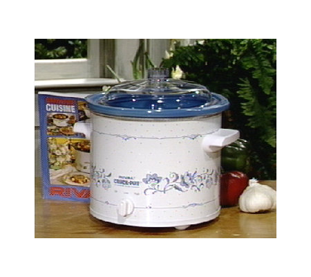 Rival 3 1 2 Qt Crock Pot Slow Cooker W Removable Liner