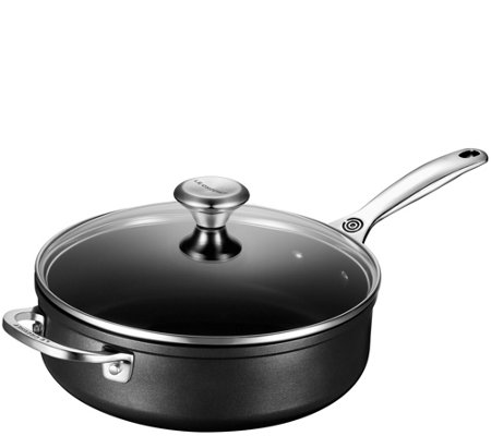 Le Creuset Nonstick 4.25-qt Saute Pan with Glass Lid