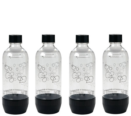 SodaStream Set of 4 1-Liter Plastic Bottles