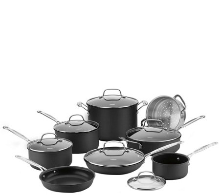Cuisinart Nonstick Hard Anodized 14-Piece Cookware Set