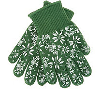 Temp-tations Oven Safe Gloves with Silicone Accents - K47973
