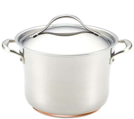 Anolon Nouvelle Copper Stainless Steel 6-1/2-qtStockpot