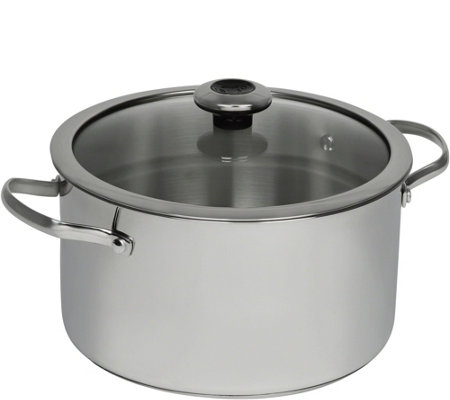 Revere Stainless Steel Copper Core 6.5-Qt StockPot with Lid