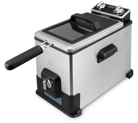 Kalorik XL 4.2-qt Deep Fryer with Oil Filtration