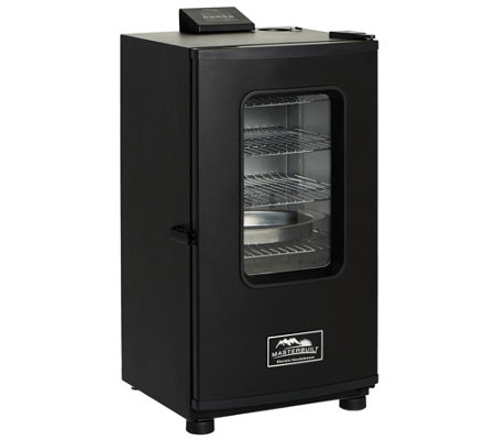 "Masterbuilt 30"" Electric Digital Smoker with Window & Cover"