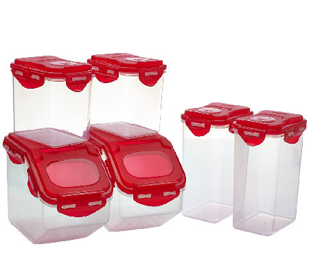 Lock & Lock 6 piece Pantry Storage Set