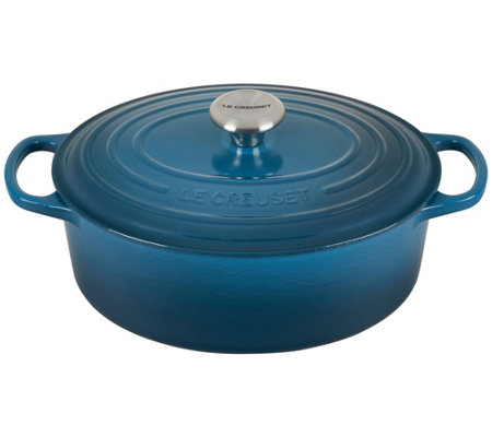 Le Creuset Signature Series 5-Qt Oval Dutch Ove  n