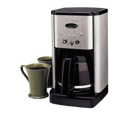 cuisinart 12 cup coffee maker cuisinart brew central 12 cup coffee maker page 1 qvc 11012