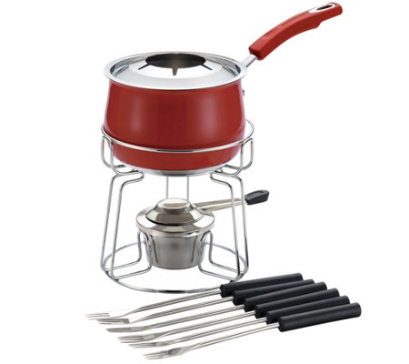 Rachael Ray Stainless Steel Fondue Set