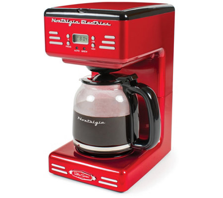 Nostalgia Electrics Retro Series 12-Cup CoffeeMaker