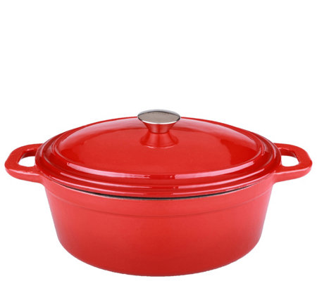BergHOFF Neo 8-qt Cast-Iron Oval Covered Casserole