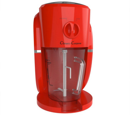 Classic Cuisine Frozen Drink Maker & Ice Crusher Machine