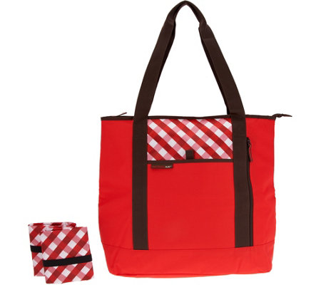 Rachael Ray Shopping Solution Set w/ Insulated Tote & Market Bags