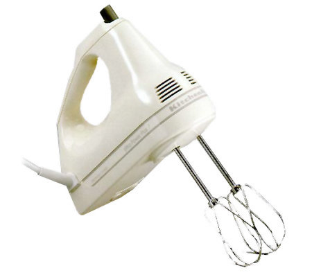 Kitchenaid Khm7t 7 Speed Ultra Power Plus Handmixer Qvc Com