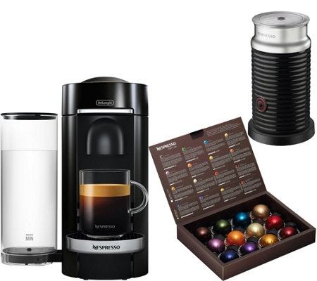 Nespresso Vertuo Plus Deluxe Machine w/ Frother by DeLonghi