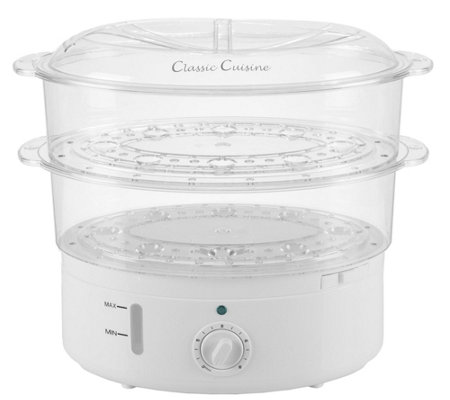 Classic Cuisine 6.3-qt Vegetable Steamer Rice Cooker