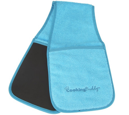 """As Is"" Cooking Buddy Towel & Pot Holder by Campanelli"