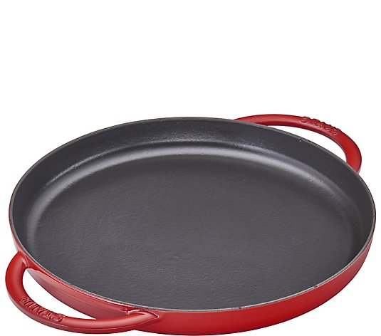"Staub Cast-Iron 10"" Double Handle Pure Griddle"