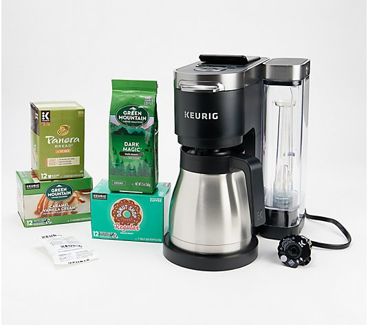 Keurig K-Duo Plus Coffee Maker w/ Ground Coffee, My KCup & 36 K-Cups