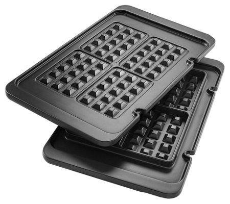 DeLonghi Waffle Plates for Livenza Electric All-Day Grill