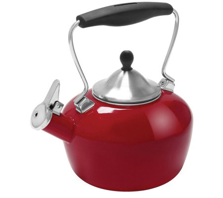 Chantal 1 8 Qt Enamel On Steel Catherine Tea Kettle
