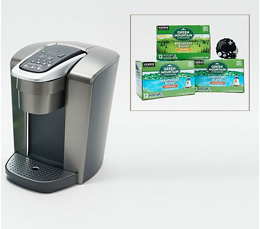 Keurig K-Elite Coffee Maker with My K-Cup Filter and 42 K-Cup Pods
