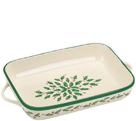 Lenox Holiday Rectangular Baker