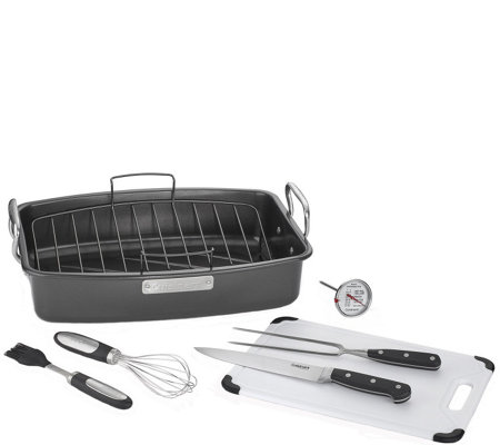 Cuisinart 8-Piece Ovenware Nonstick Roasting Set