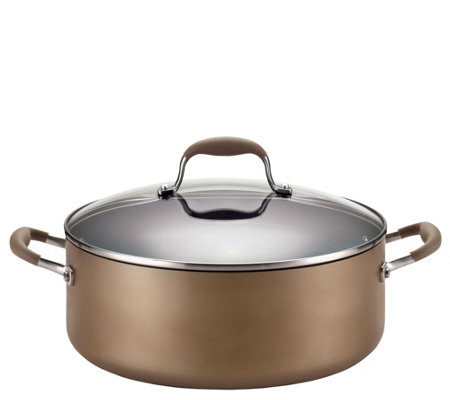 Anolon Advanced Bronze Hard-Anodized 7.5-qt Wide Stockpot
