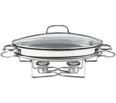 "Cuisinart Stainless 13.5"" 2.5-qt Oval Buffet Server"