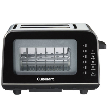 Cuisinart ViewPro Glass 2-Slice Toaster