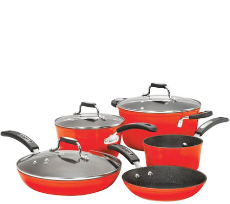 Starfrit 8-Piece Cookware Set with Bakelite Handles