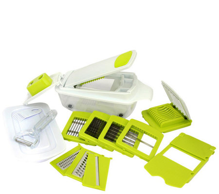 MegaChef 8-in-1 Multi-Use Slicer, Dicer, and Chopper
