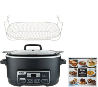 qvc kitchen appliances small appliances ninja 6qt 4in1 multicooker plus w steam slow cookers small appliances kitchen food qvccom