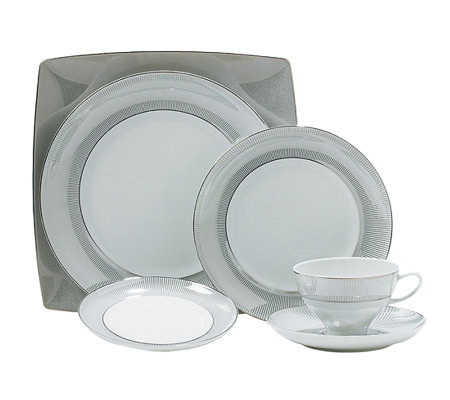 Mikasa Platinum Shimmers 5-Piece Place Setting