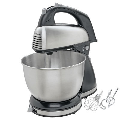 Hamilton Beach 64650 Six-Speed Classic Hand andStand Mixer