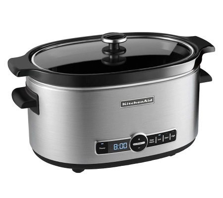 KitchenAid 6-Qt Slow Cooker - Stainless