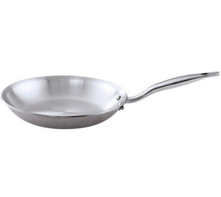 "Hammer Stahl Stainless Steel Clad 8.5"" Fry Pan"