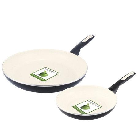 Greenpan Rio 8 10 Ceramic Nonstick Fry Panset