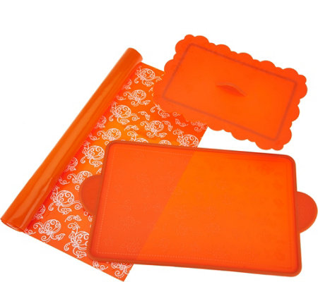 Temp-tations Floral Lace 3-pc Silicone Set