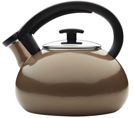 Anolon Allume 2 Quart Enamel On Steel Teakettle