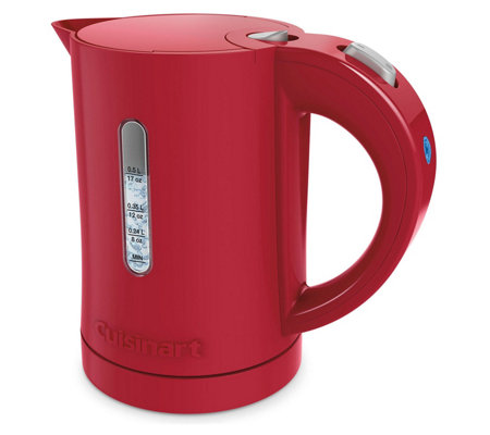 Cuisinart QuicKettle Compact Plastic Electric Kettle - Red