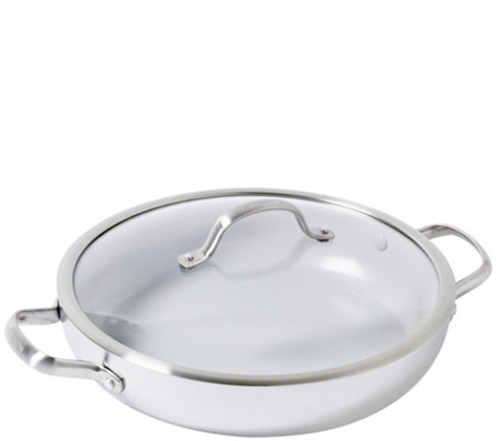 Greenpan Venice Pro 12 Ceramic Nonstick Covered Everyday Pan