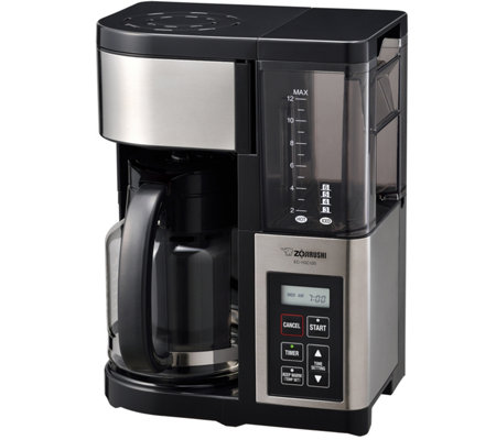 Zojirushi Fresh Brew 12-Cup Coffee Maker, GlassCarafe
