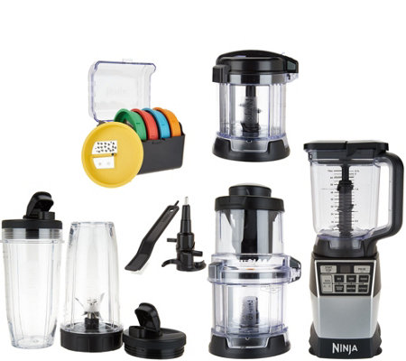 Ninja 4-in-1 Auto-iQ Kitchen System w/ Accessories