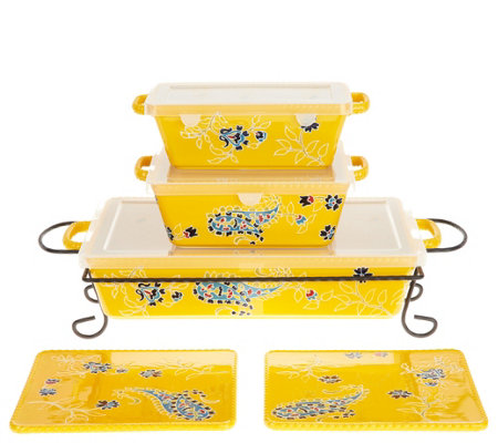 Valerie Bertinelli 6-Piece Bake & Serve Set